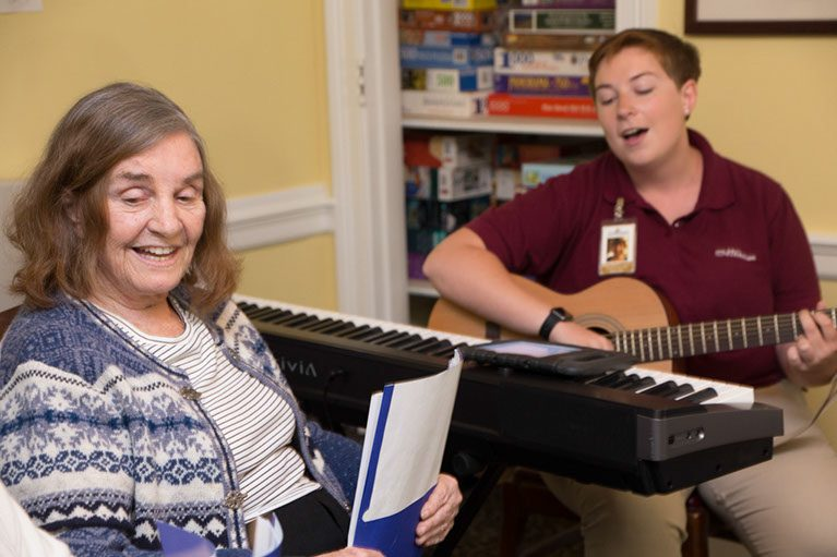 Music Therapy in Healthy Aging
