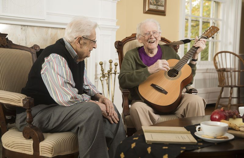 Residents share their talents.