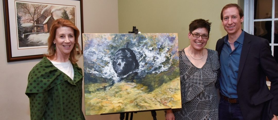 A Spectacular Evening at The Hickman's  Art of Caring: Passport to Art